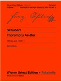 Franz Schubert: Impromptu A-flat D 935 Ab Op. Post. 142/2 D 935