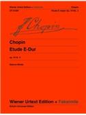 Frédéric Chopin: Etude In E Major