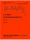 J.S. Bach: French Suite No.5  G BWV 816