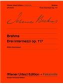 Johannes Brahms: Drei Intermezzos Op.117