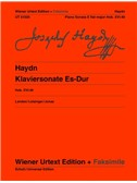 Joseph Haydn: Piano Sonata Eb Major Hob. XVI:49. Sheet Music