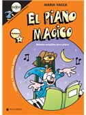 Maria Vacca: El Piano Magico (Book/CD) (Spanish)
