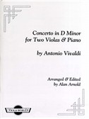 Antonio Vivaldi: Concerto In D Minor For Two Violas And Piano