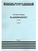 Christian Sinding: Quintet Op.5 (Score/Parts)