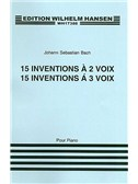 J.S. Bach: Fifteen Two And Three Part Inventions