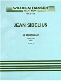 Jean Sibelius: 13 Pieces Op.76 No.3 'Carillon'