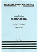 Jean Sibelius: 13 Pieces Op.76 No.7 'Affettuoso'