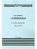 Jean Sibelius: 13 Pieces Op.76 No.8 'Piece Enfantine'