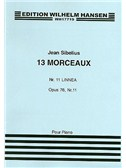 Jean Sibelius: 13 Pieces Op.76 No.11 'Linnaea'