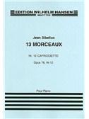 Jean Sibelius: 13 Pieces Op.76 No.12 'Capriccietto'