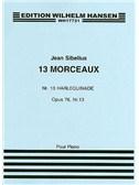 Jean Sibelius: 13 Pieces Op.76 No.13 'Harlequinade'