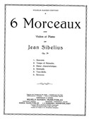 Jean Sibelius: Six Pieces Op.79 No.6 - Berceuse
