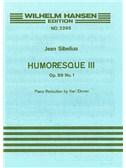 Jean Sibelius: Humoresque No.3 Op.89a (Violin/Piano)