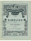 Jean Sibelius: Suite Champetre Op.98b No.1- Piece Caracteristique (Piano)