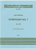 Jean Sibelius: Symphony No.7 Op.105 (Full Score)
