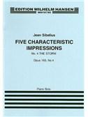 Jean Sibelius: Five Characteristic Impressions Op.103 No.4 - The Storm