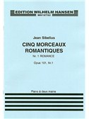 Jean Sibelius: Five Romantic Pieces Op.101 No.1- Romance