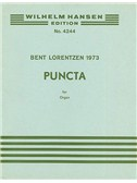 Bent Lorentzen: Puncti