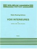 Niels Rosing-Schow: Voix Interieures (Score)