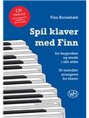 Finn Kornebæk: Spil klaver med Finn (Book/CD)