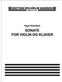 Vagn Holmboe: Sonate For Violin Og Klaver