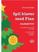 Finn Kornebæk: Spil klaver med Finn - JULEHÆFTET (Book/CD)