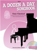 A Dozen A Day Songbook: Easy Classical - Mini