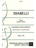 Anton Diabelli: Melodische Ubungsstucke Op.149