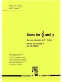 Duets For Treble And Bass Clef Instruments