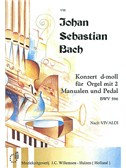 J.S. Bach: Organ Concerto In D Minor BWV 596