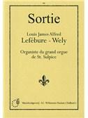 Louis Lefebure-Wely: Sortie