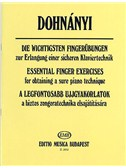 Ernst Von Dohnanyi: Essential Finger Exercises