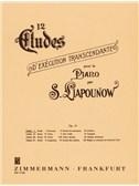 Sergei Liapunov: 12 Etudes Op.11 Nos.1-3