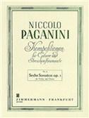Niccolo Paganini: Sechs Sonaten Op.3
