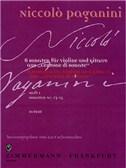 Niccolo Paganini: Centone Di Sonate Volume 1 (Violin/Guitar)