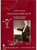 Andersen, Joachim : Livres de partitions de musique