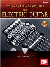 Soloing Techniques For Electric Guitar Book And CD Books CDs