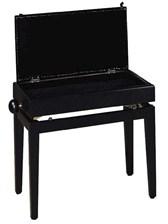Stagg PB55 BKP Adjustable Height Piano Bench | Piano Digital Piano  sc 1 st  Musicroom & Roland: RPS-30 Piano Stool (Polished Ebony) - Roland Digital Piano ... islam-shia.org