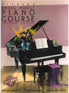 Alfred's Basic Adult Piano Course: Lesson Book Level One Books | Piano