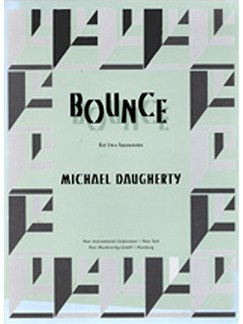 Michael Daugherty: Bounce For Bassoon Duo Books | 2 Bassoons