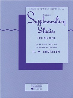 R.M. Endresen: Supplementary Studies - Trombone Books | Trombone