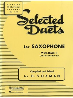 Selected Duets For Saxophone - Volume 1 Books | Saxophone (Duet)