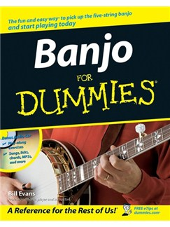 Banjo For Dummies (Book And CD) Books and CDs | Banjo