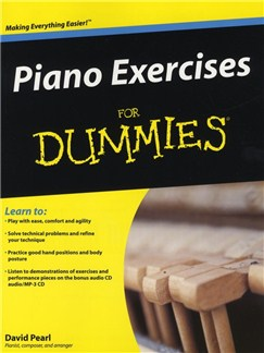 David Pearl: Piano Exercises for Dummies Books and CDs | Piano