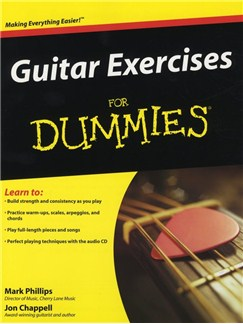 Mark Phillips and Jon Chappell: Guitar Exercises for Dummies Books and CDs | Guitar