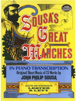 Sousa's Great Marches In Piano Transcription Books | Piano