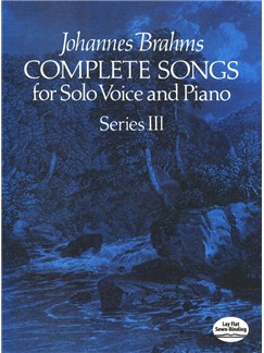 Johannes Brahms: Complete Songs For Solo Voice And Piano - Series III Bog | Stemme, Klaverakkompagnement