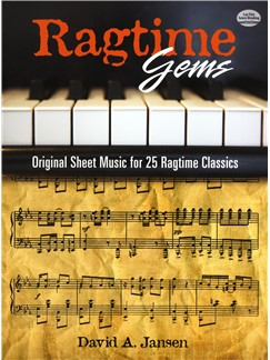 David Jasen: Ragtime Gems - Original Sheet Music For 25 Ragtime Classics Books | Piano