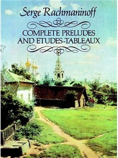 Serge Rachmaninoff: Complete Preludes And Etudes-Tableaux Books | Piano