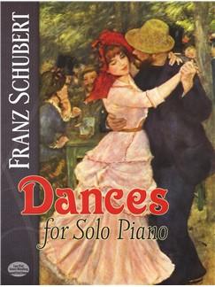 Franz Schubert: Dances For Solo Piano Books | Piano